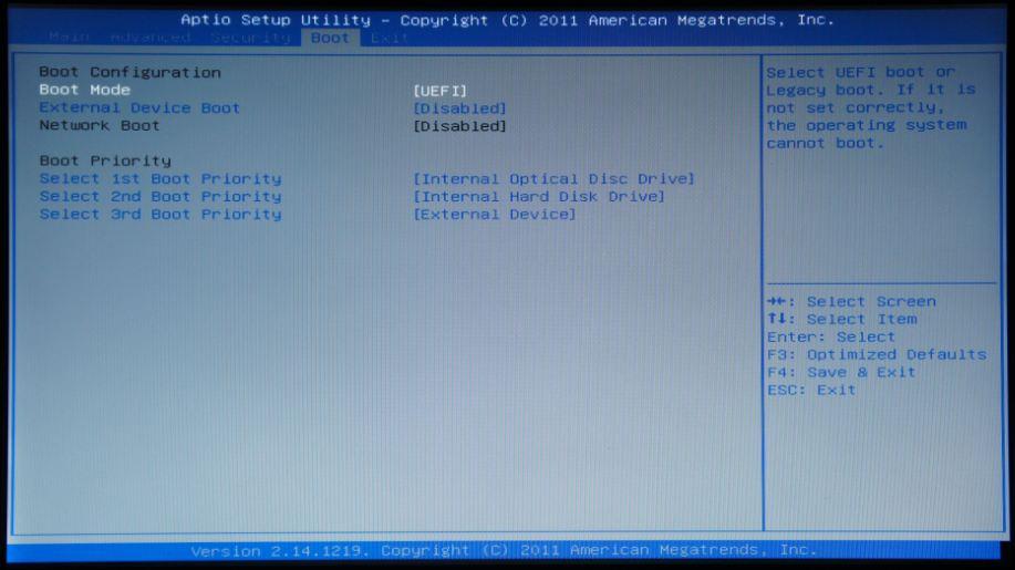 부팅 시 Operating System Not Found란 메시지가 나옵니다.