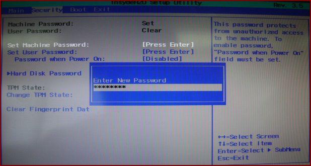[BIOS 관련]BIOS 암호를 만들고 싶습니다.