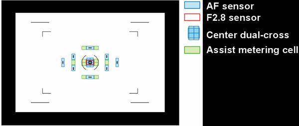DSLR-A900의 포인트 센서는 어떻게 되나요?