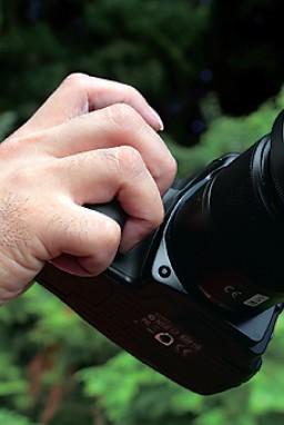 카메라의 올바른 홀드 하는 법
